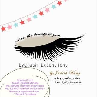korean eyelash extension