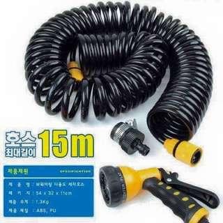 韓國出品 , 洗車專用彈弓水喉