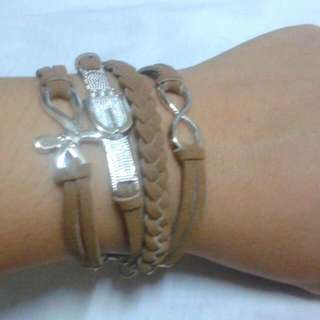 3in1 Suede Bracelet by: Xndrahbeads