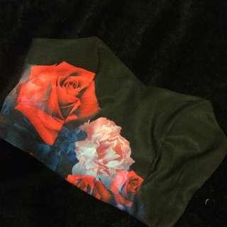 Printed Bralette/Crop