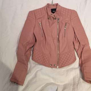 Asos Faux Leather Jacket Size 4
