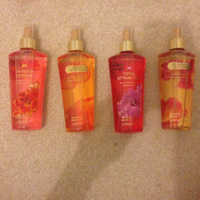 4 Victoria Secret Fragrances
