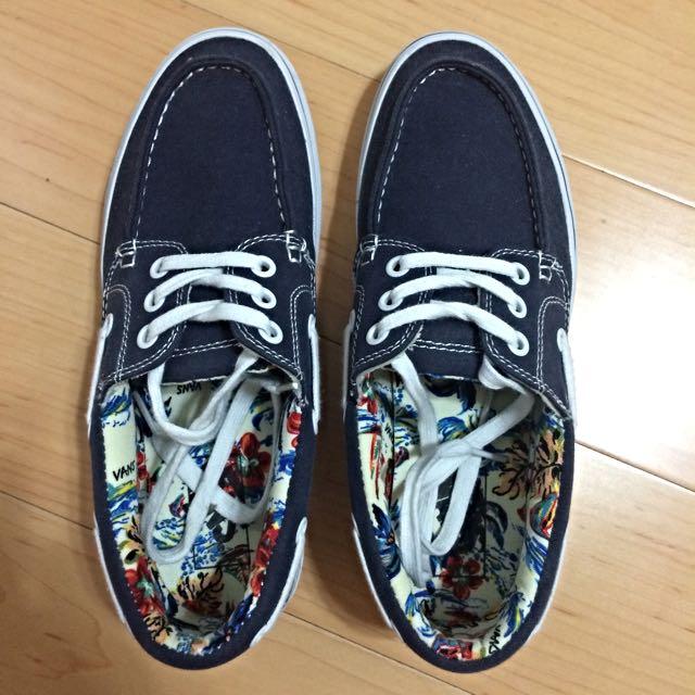 (預定)【Vans】深藍色夏日滑板鞋 - 正品