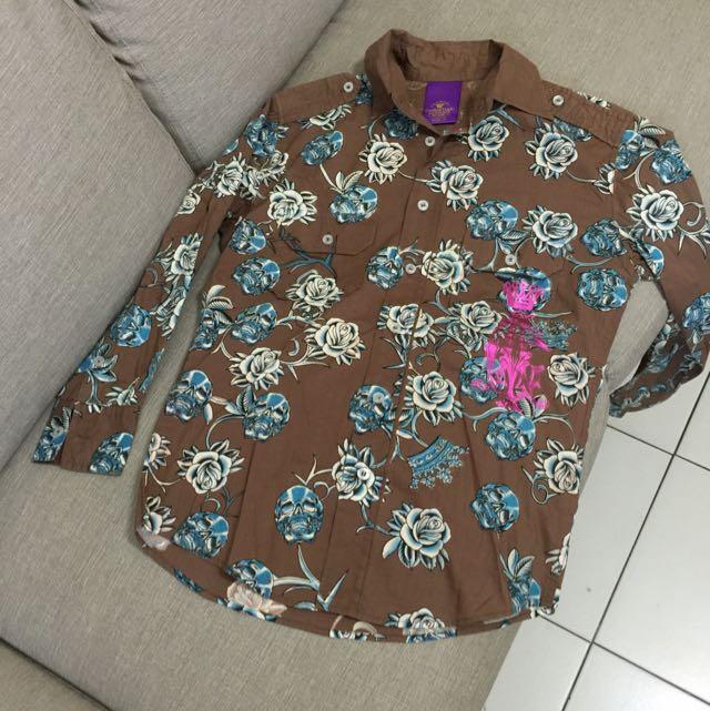 香港百貨公司買的襯衫