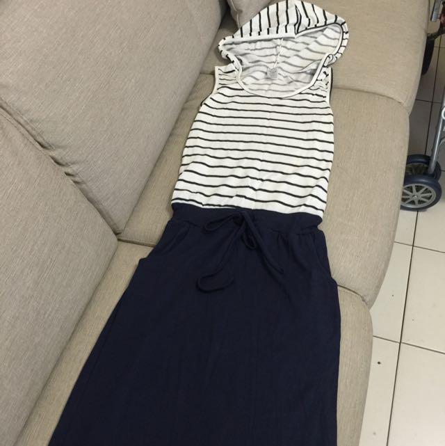 保留-韓版休閒長洋裝