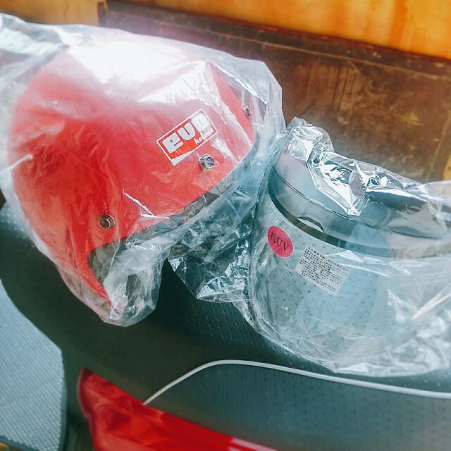 (免運) 全新 安全帽 紅色