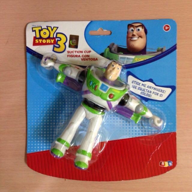 巴斯光年 公仔 玩具總動員 模型 吸盤式