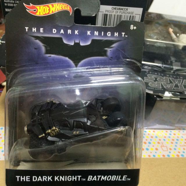 蝙蝠俠 蝙蝠車 俠影之謎 Hot Wheels Dark Knight Batmobile Tumbler 全新
