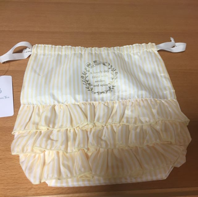 (現貨)Afternoon Tea 蛋糕造型束口袋