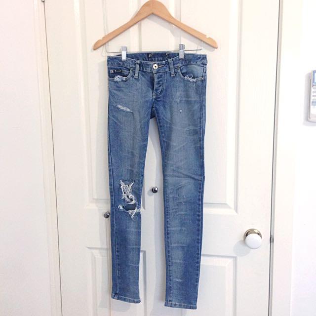 Bardot Ripped Jeans