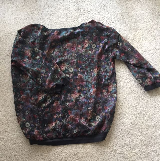 Bershka Collection Sheer Pullover