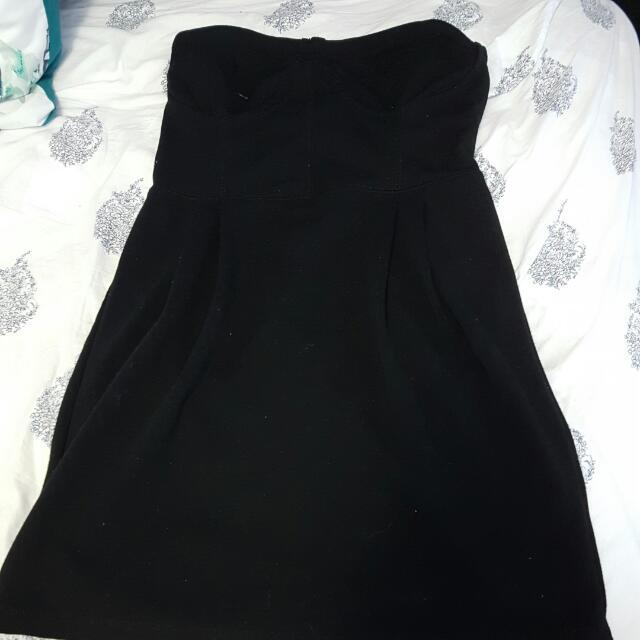 Black Dress From Garage