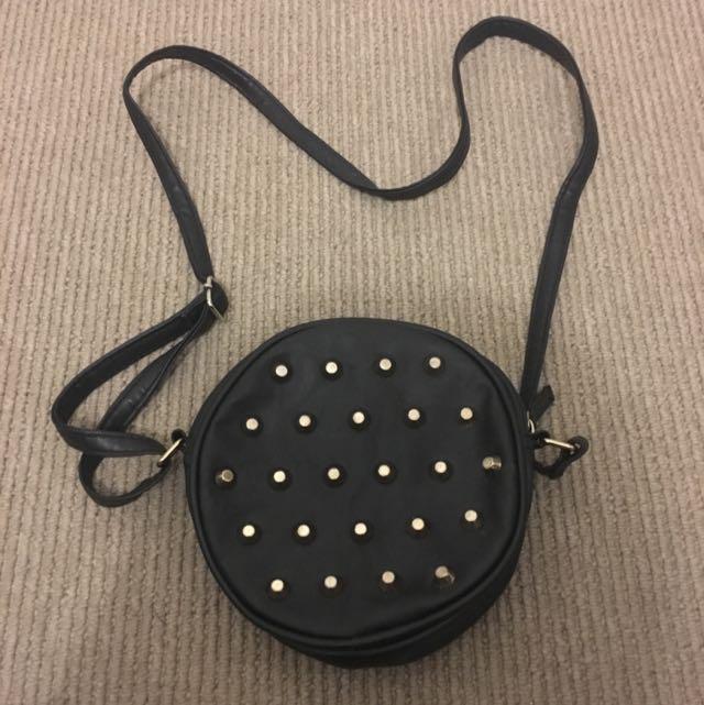 Black Side Bag