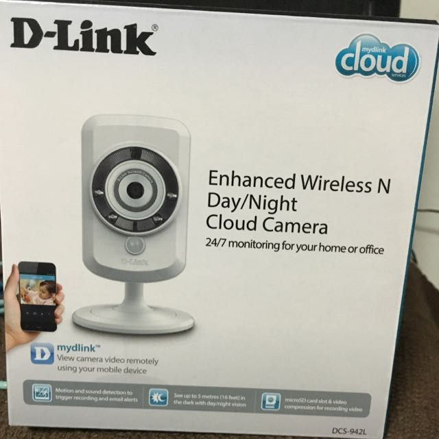 Brand New Dlink Cloud Camera Dcs-942L
