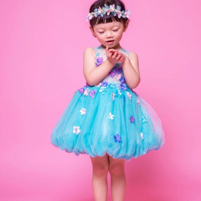 Brand New Flower Girl Children Dress Flowers Dress For Girls