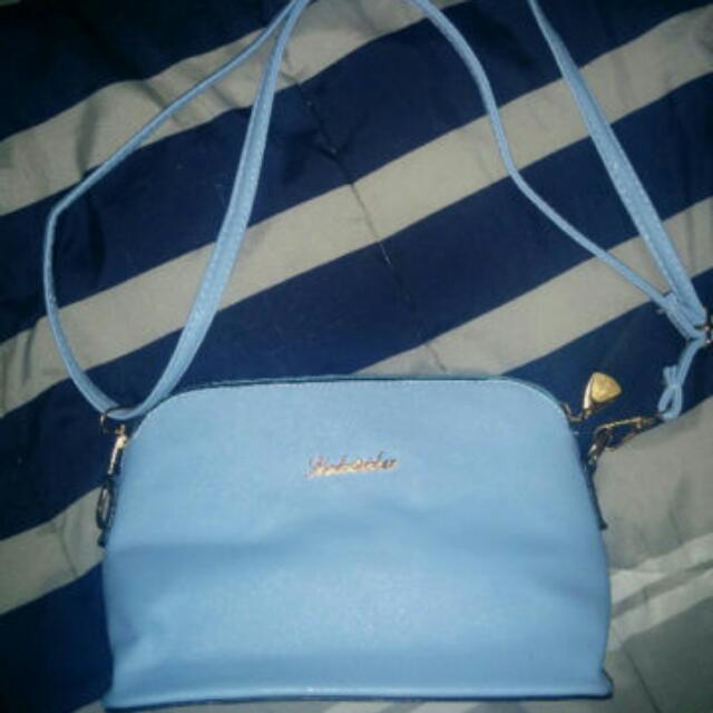 Brand New Sky Blue Handbag