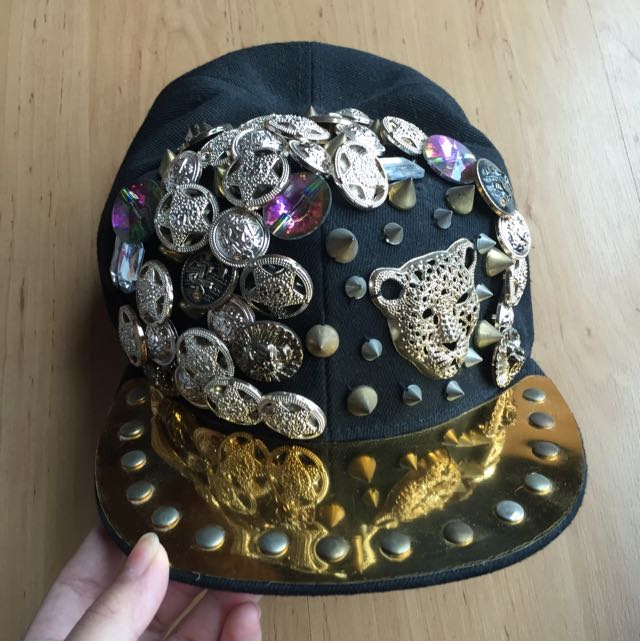 Cap with Pins