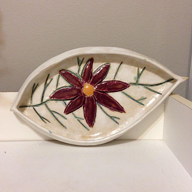 Ceramic Jewelry Plate