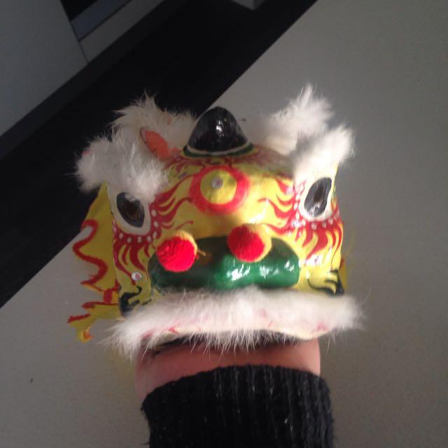 Decorative Chinese Dragon Head