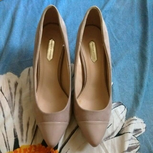 Dorothy Perkins Nude Pumps