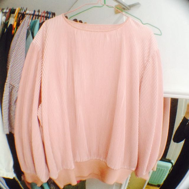 (100k for 3pcs!) Dusty Pink Blouse