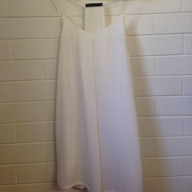 Flowy White Summer Dress