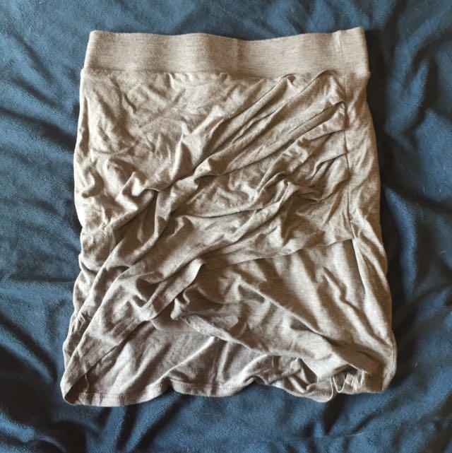 Forever21 Grey Wrap Skirt