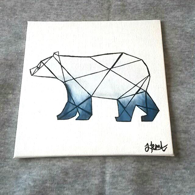 Geometric Polar Bear