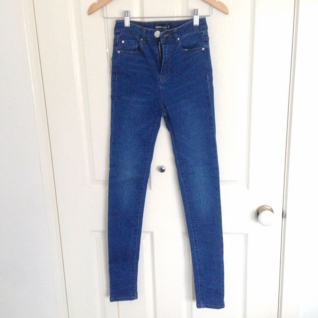 BNWOT GLASSONS High Waisted Jeans Size 6