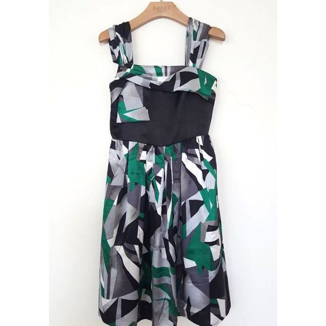 HER&HIM 鴿子專櫃 露肩連身洋裝 連身裙