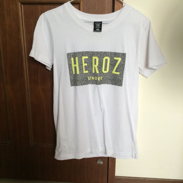 Hero Or Zero Hoz 短袖 上衣