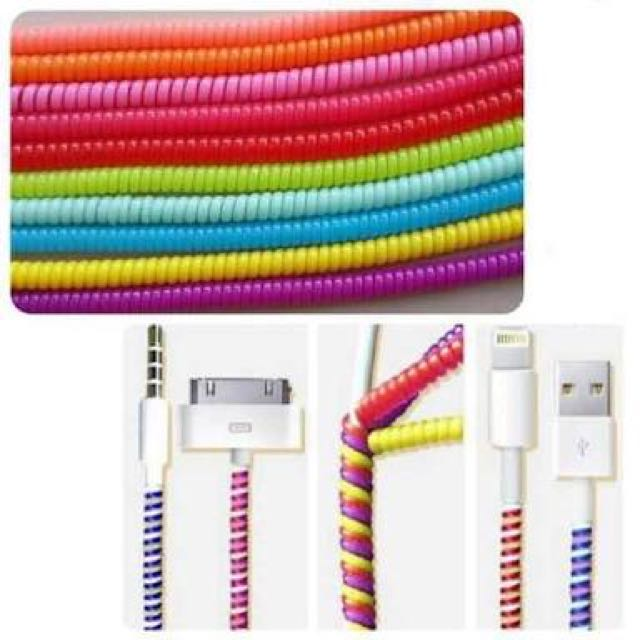 iphone charger/earphone protector