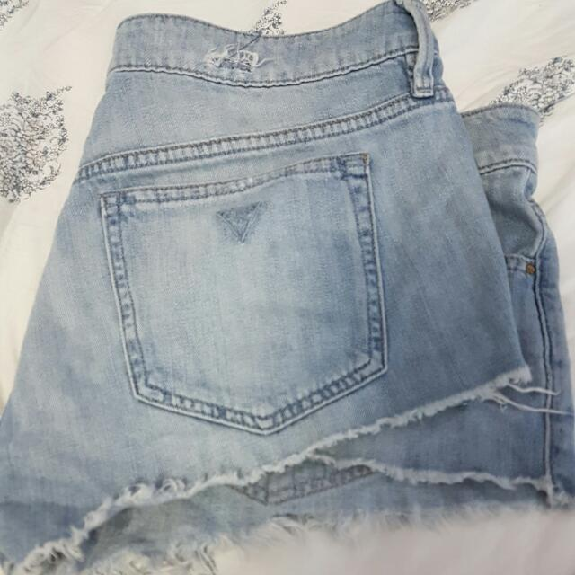 Jean Shorts From GUESS