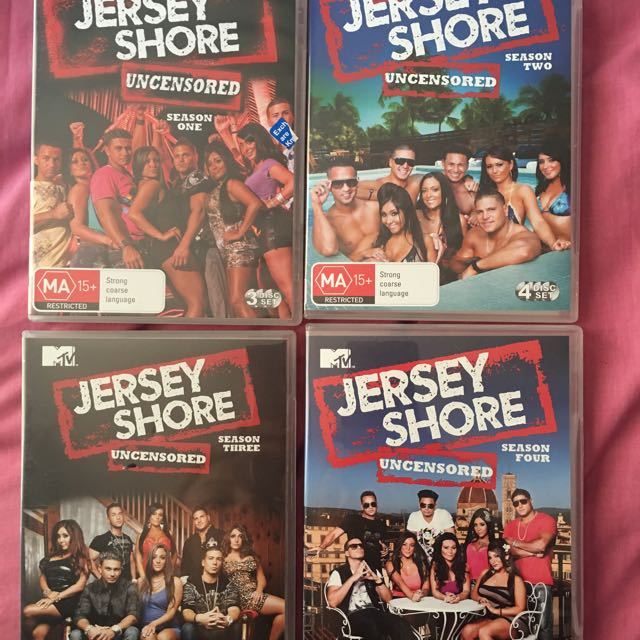 Jersey Shore Seasons 1-4