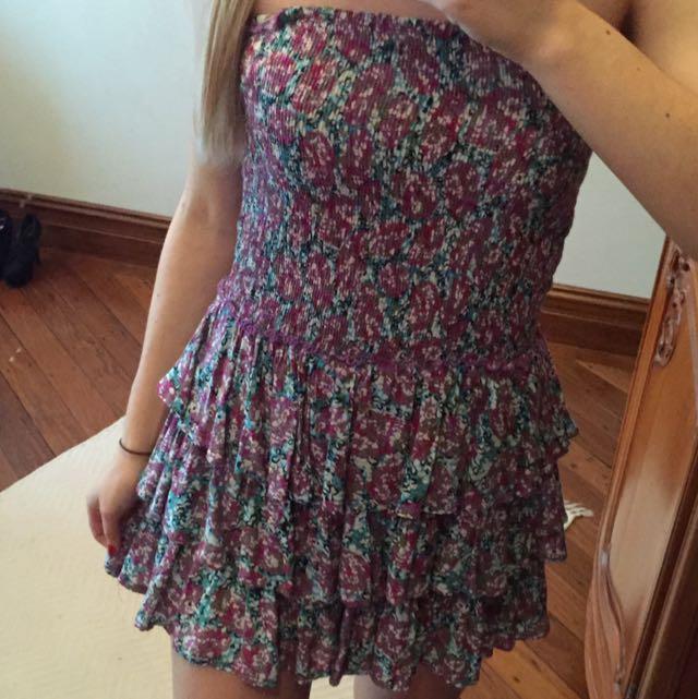 Josie strapless dress