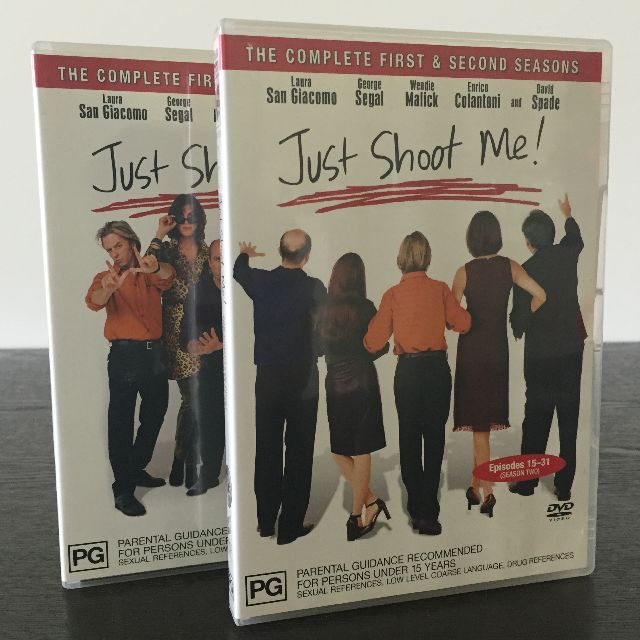 Just Shoot Me Seasons 1 & 2 DVD