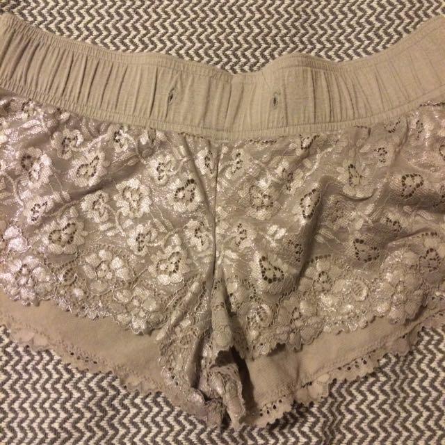 Lace Sleep Shorts