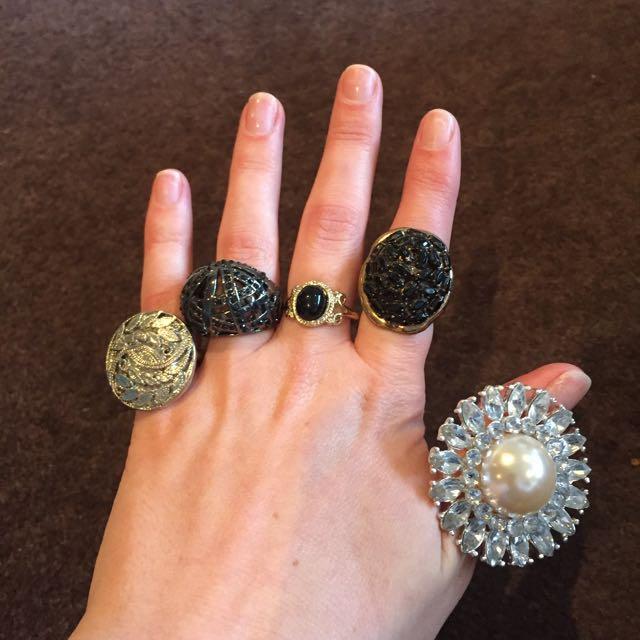 Ladies Dress Rings