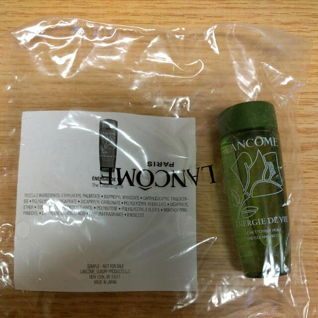 Lancome Cleansing Oil