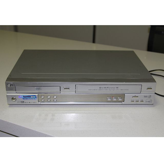 LG DVD Player and VCR with Video Recorder