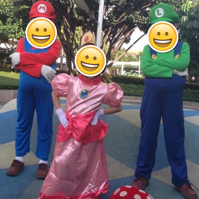 Halloween Mario Bros' Luigi Costume