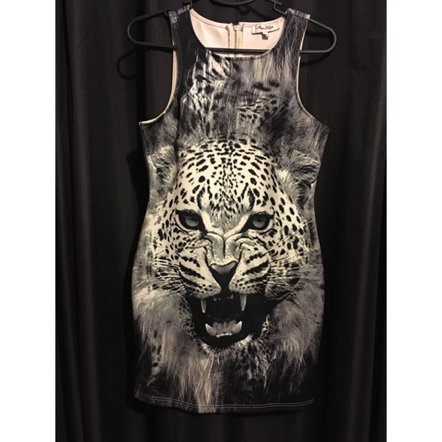 Miss Shop Cheetah/Leopard Dress