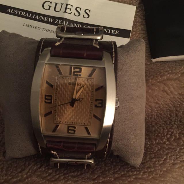 New GUESS Watch MEN's