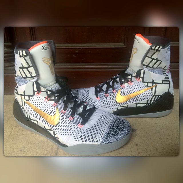 sneakers for cheap c74c8 46523 Authentic Kobe 9 Elite Gold Fundamentals, Men s Fashion on Carousell