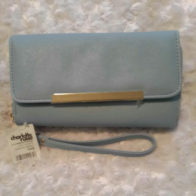 Powder Blue Charlotte Russe Clutch