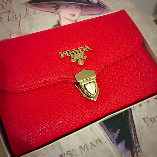 PRADA inspired Over Sized Wallet