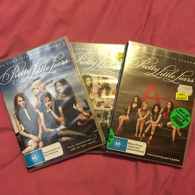Pretty Little Liars Seasons 1-3