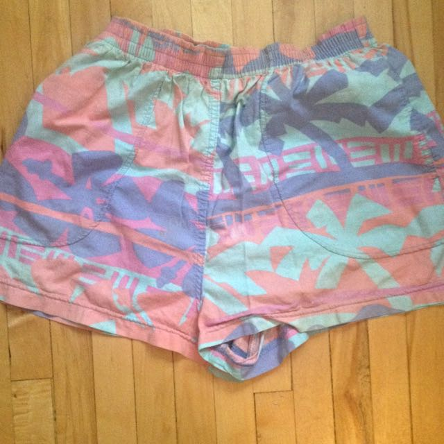 Retro Beach Shorts -