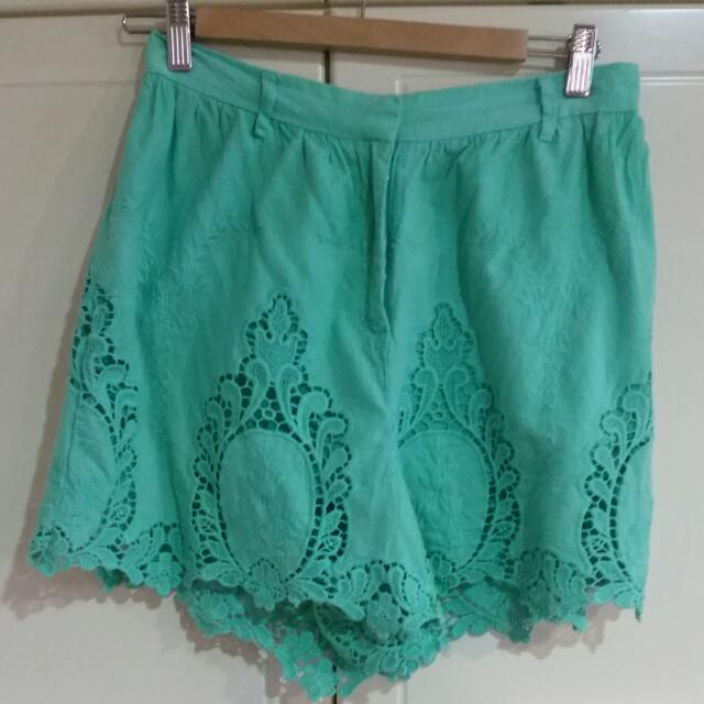 Sabo Skirt Shorts Size 10