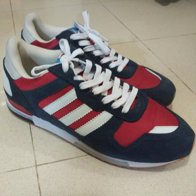Sepatu Sneakers Adidas ZX 700 Navy Red White Replica, Men's